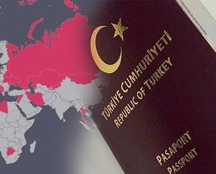 Türkiye'den pasaportsuz ve vizesiz gidilen ülkeler!