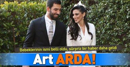 İşte Aslıhan Doğan ve Arda Turan'ın çocuklarının ismi!