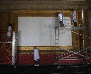 Yer Dolmabahçe Sarayı... Görenler şaşkına dönüyor
