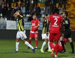 Kanarya kupada kayıp! (MS: Ümraniyespor 1-0 Fenerbahçe)