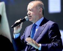 Erdoğan müjdeyi Ahlat'ta verdi