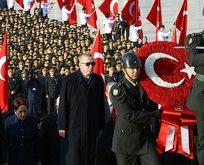 Mustafa Kemal Atatürk Anıtkabir'de anıldı