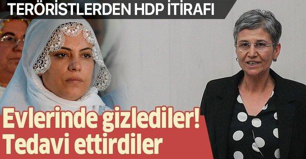 Teröristler HDP'li vekillerin desteğini itiraf etti