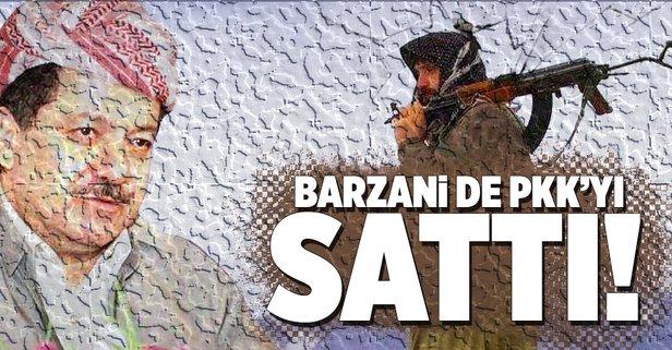 PKKya Barzani şoku: Yasaklandı!