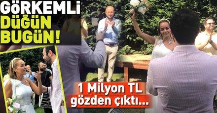 Bengü bugün evleniyor! İşte Bengü ile Selim Selimoğlunun görkemli düğünü...