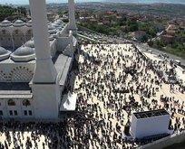 Büyük Çamlıca Camii'nin resmi açılışı! İşte içeriden ilk fotoğraflar