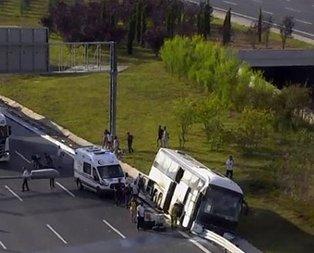 Yavuz Sultan Selim Köprüsü'nde feci kaza!
