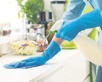 Bulaşık eldiveni kullanın...