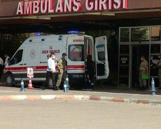 Kilis'te askeri araç devrildi: 5'i asker 16 yaralı!