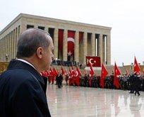 Erdoğan, Anıtkabir Özel defterini imzaladı