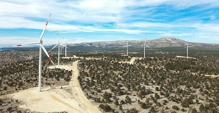 650 milyon dolarlık rüzgar