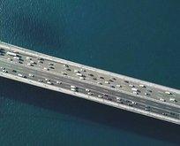 FSM Köprüsü'nda dikkat çeken görüntü