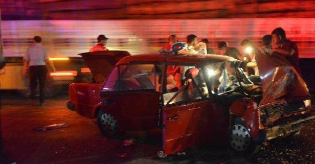 Aydın'da feci kaza! 2 ölü 1 ağır yaralı