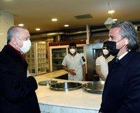 Başkan Erdoğan'dan İzmir'de esnaf ziyareti
