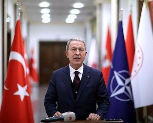 Son dakika: Milli Savunma Bakanı Hulusi Akar'dan NATO Toplantısı sonrası açıklama: Müttefiklerimizi uyardık