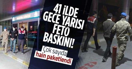 Son dakika: İzmir'de FETÖ operasyonu: 158 kişi gözaltına kararı