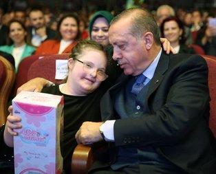 Cumhurbaşkanının çocuk sevgisi