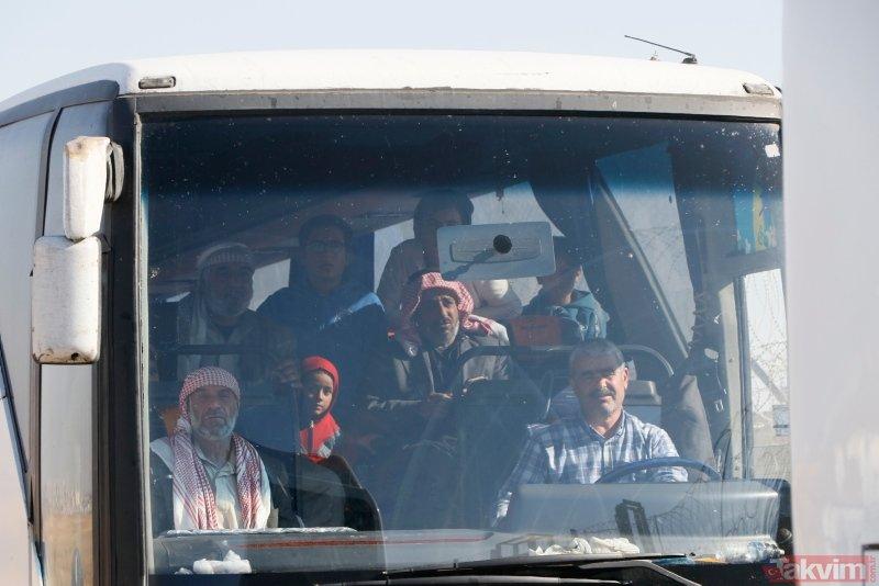 Tel Abyadlılar bölgenin YPG/PKK işgalinden kurtulmasının ardından baba ocağına dönüş yapıyor