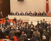 Meclis'te CHP'den iğrenç saldırı!
