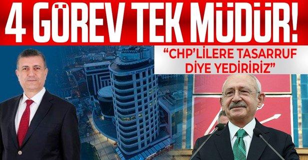 CHP'li belediyede bir kişiye dört müdürlük!