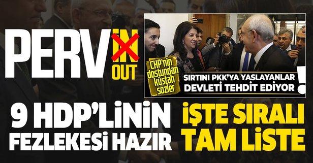 9 HDP'li vekilin fezlekesi Meclis'te
