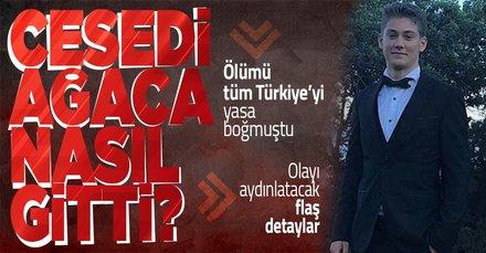 SON DAKİKA: Ölümü tüm Türkiye'yi yasa boğmuştu! Arda Yurtseven'in cesedi ağaca nasıl gitti