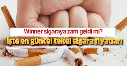 Winner HD blue slims sigara ne kadar? Winner sigaraya zam geldi mi? İşte en güncel tekel sigara fiyatları