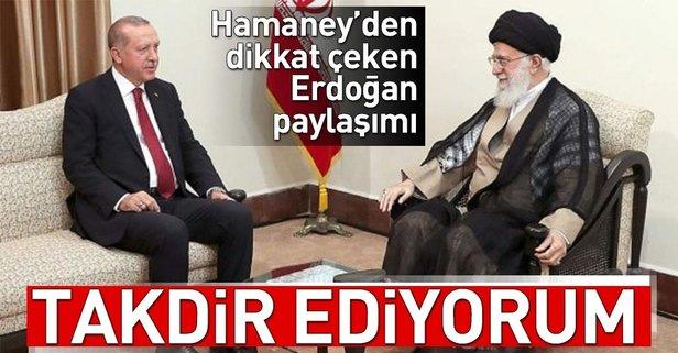 Hamaneyden dikkat çeken Erdoğan açıklaması!
