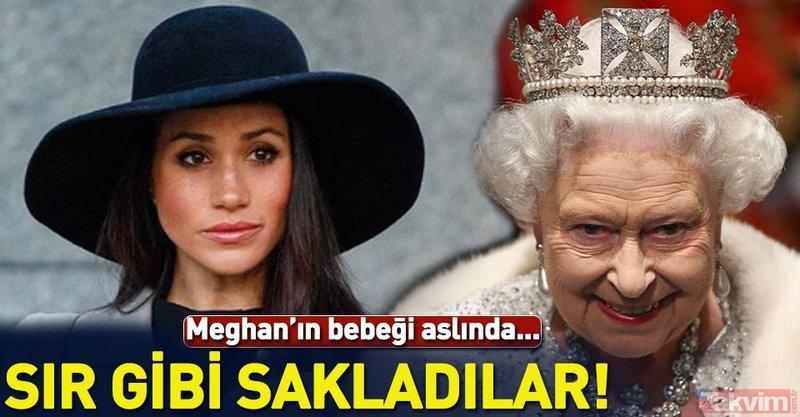İngiliz Kraliyet Ailesi'nin sakladığı büyük sır! Meghan Markle'ın bebeği engelli mi doğacak?