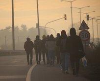 Türkiye kapıları açtı! Binlerce göçmen Avrupa yolunda