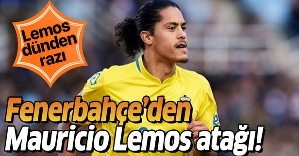 Fenerbahçe'den Mauricio Lemos atağı