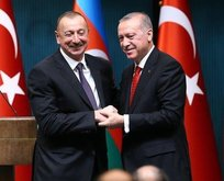 Aliyev'den Başkan Erdoğan'a mektup