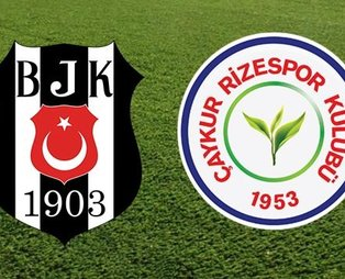 Beşiktaş - Çaykur Rizespor   CANLI ANLATIM