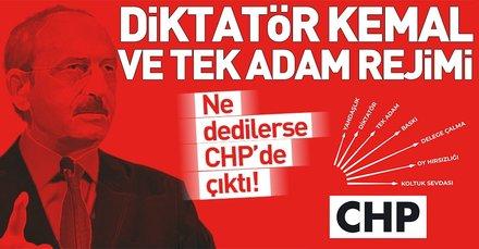 CHP'de Diktatör Kemal yönetiminde tek adam rejimi