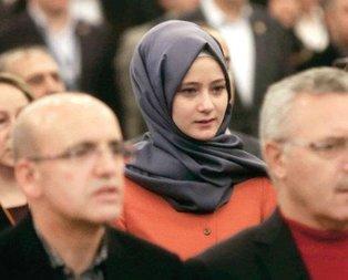 O isim Davutoğlu'nun kızı çıktı
