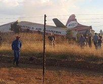 Güney Afrika'da uçak düştü: En az 20 yaralı