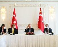 Başkan Erdoğan Anadolu Efes'i konuk etti