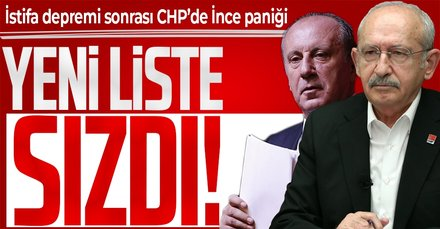 CHP'de 'İnce' krizi!