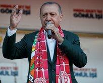 Başkan Erdoğan'dan Antalya'da kritik açıklamalar