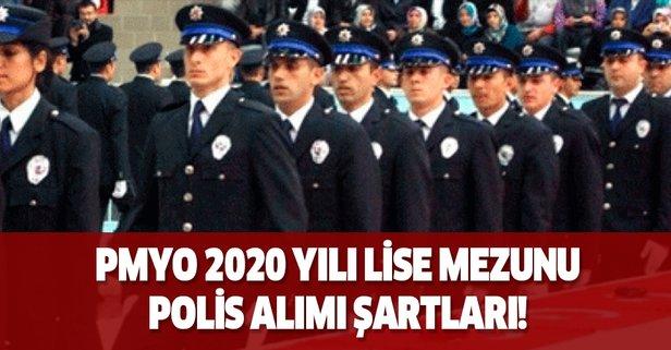 Pmyo 2020 Yili Lise Mezunu Polis Alimi Sartlari Aciklandi Mi Takvim