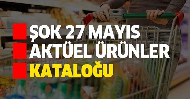 27 Mayıs ŞOK aktüel kataloğu indirimlerle geldi!