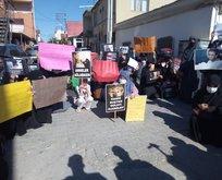 İncirlik'te İsrail protestosu
