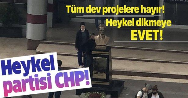 CHP'li Esenyurt Belediyesi'nden dev proje: Heykel!