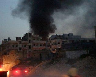 Suriye'nin İdlib kentine hava saldırısı: 10 ölü