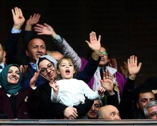 Cumhurbaşkanıyla kız çocuğunun gülümseten diyaloğu