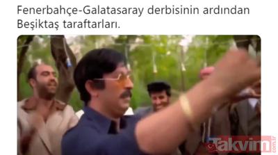 Fenerbahçe-Galatasaray derbisi capsleri sosyal medyayı salladı!