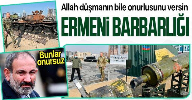 Ermenistan'dan savaş suçu!