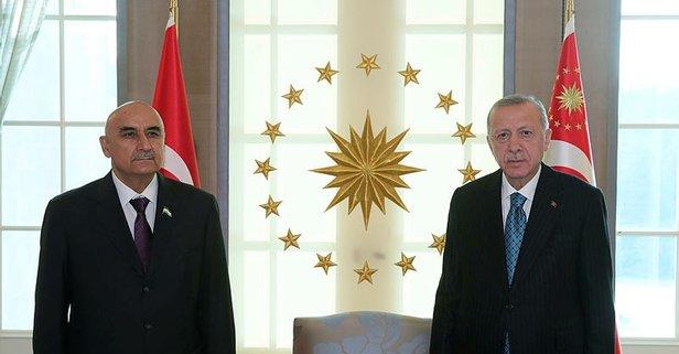 Başkan Erdoğan'dan bir kabul daha