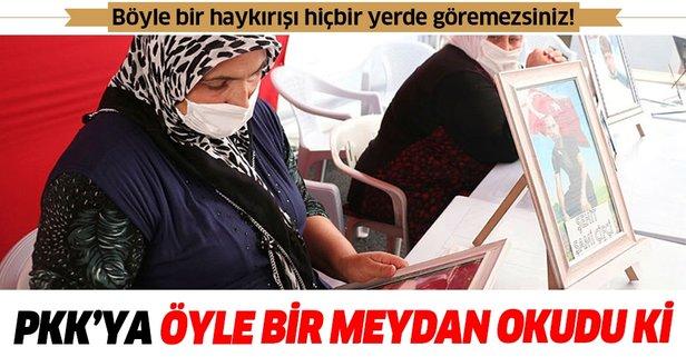 Diyarbakır annesi HDP ve PKK'ya meydan okudu
