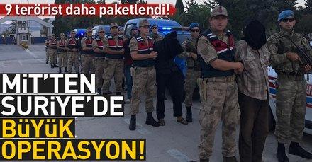 Son dakika... MİTten Suriyede büyük operasyon!
